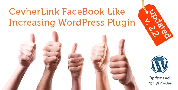 Get Our CevherLink WORDPRESS PLUGIN and Increase Your FaceBook Page Like!