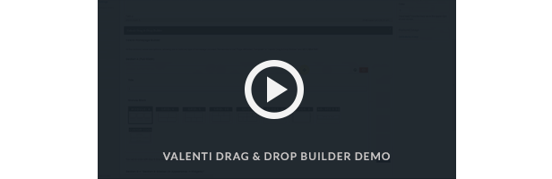 drag and drop builder video