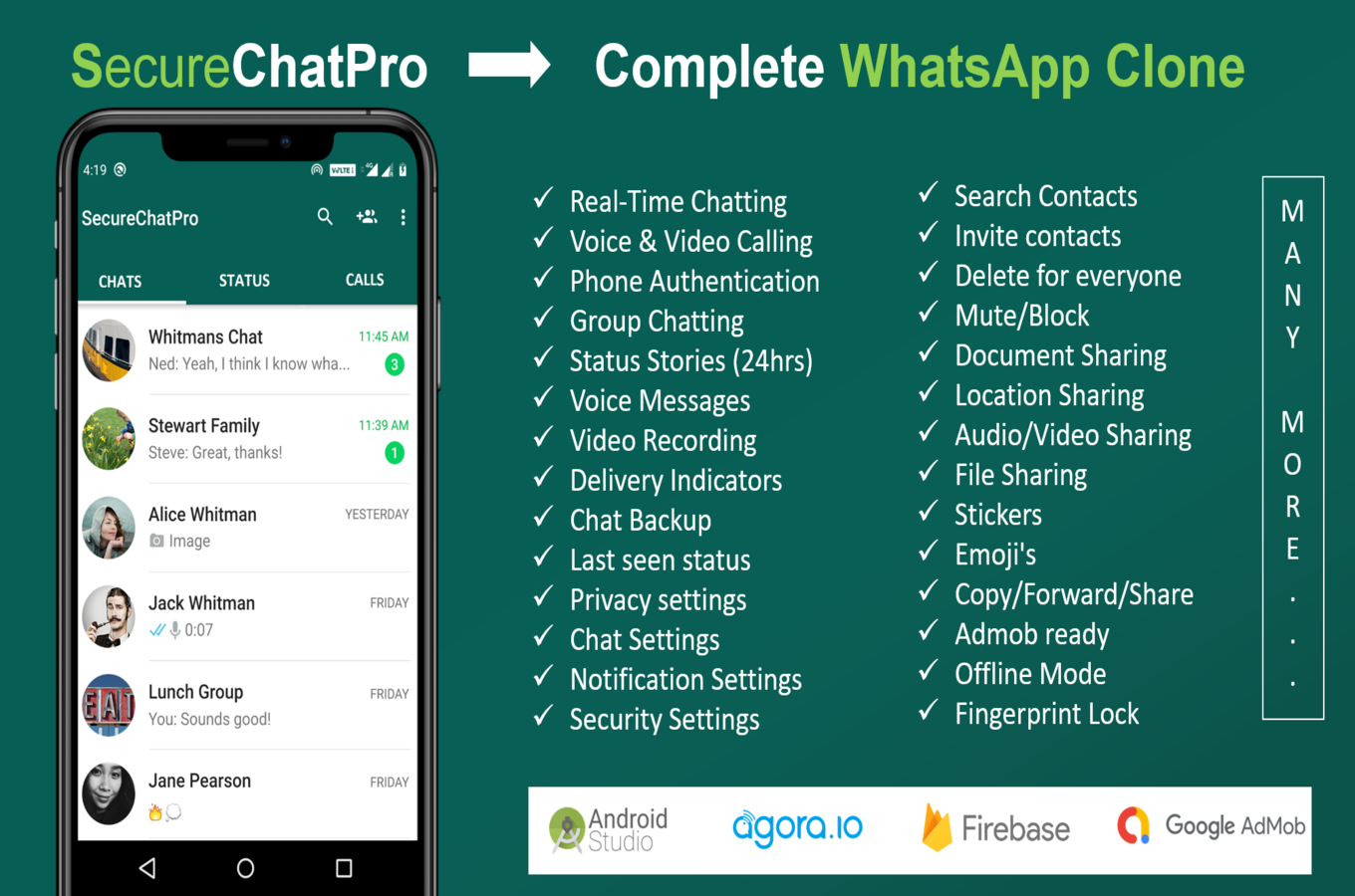 SecureChatPro - A Complete Whatsaap Clone - 2