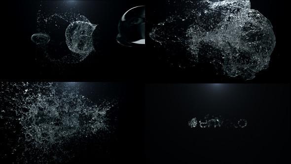 Water Drop Splash Logo - 46