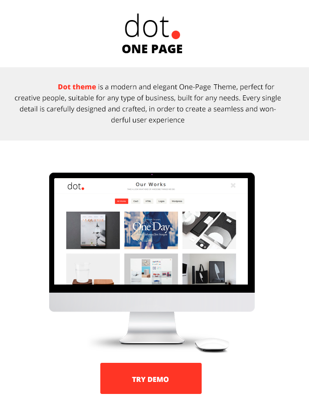 agency, blog, business, clean, corporate, creative, modern, one page, photography, portfolio, seo
