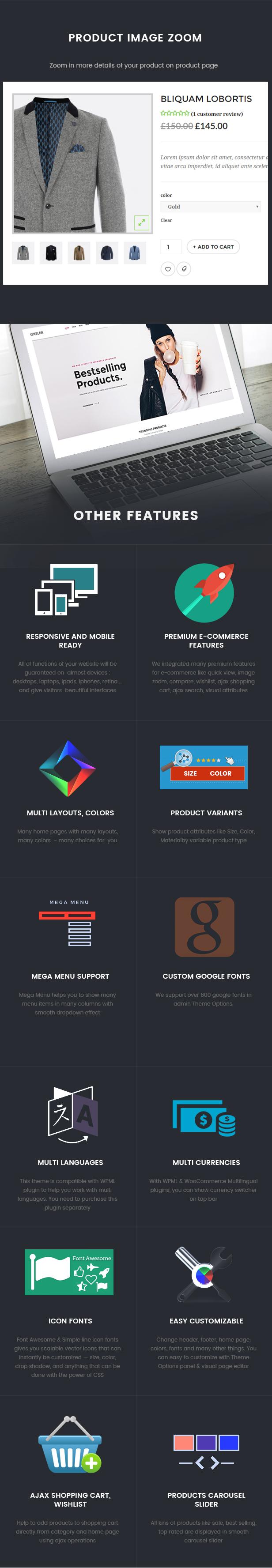 Oxelar - Fashion Responsive WordPress Theme 36