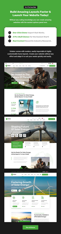 Solatec - Ecology & Solar Energy WordPress Theme - 2
