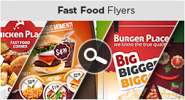 delicious moments fast food flyer template by punedesign