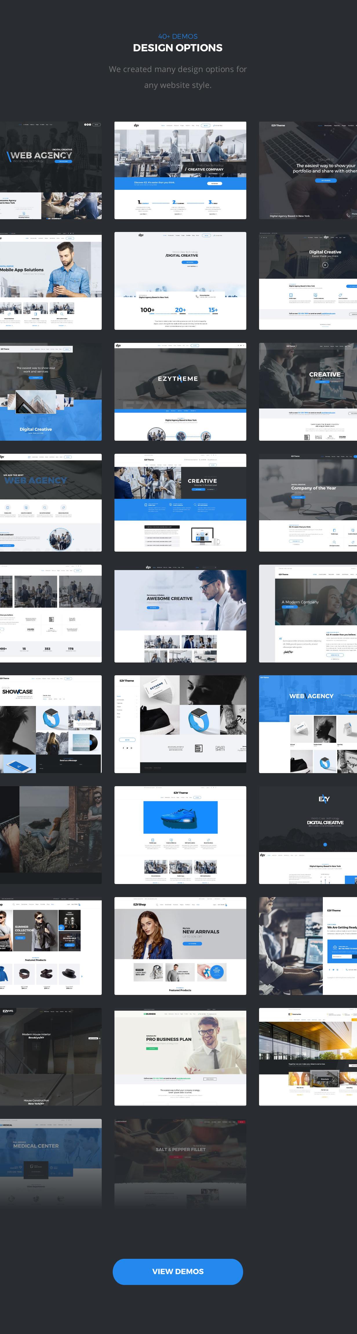 EZY - Responsive Multi-Purpose WordPress Theme - 3
