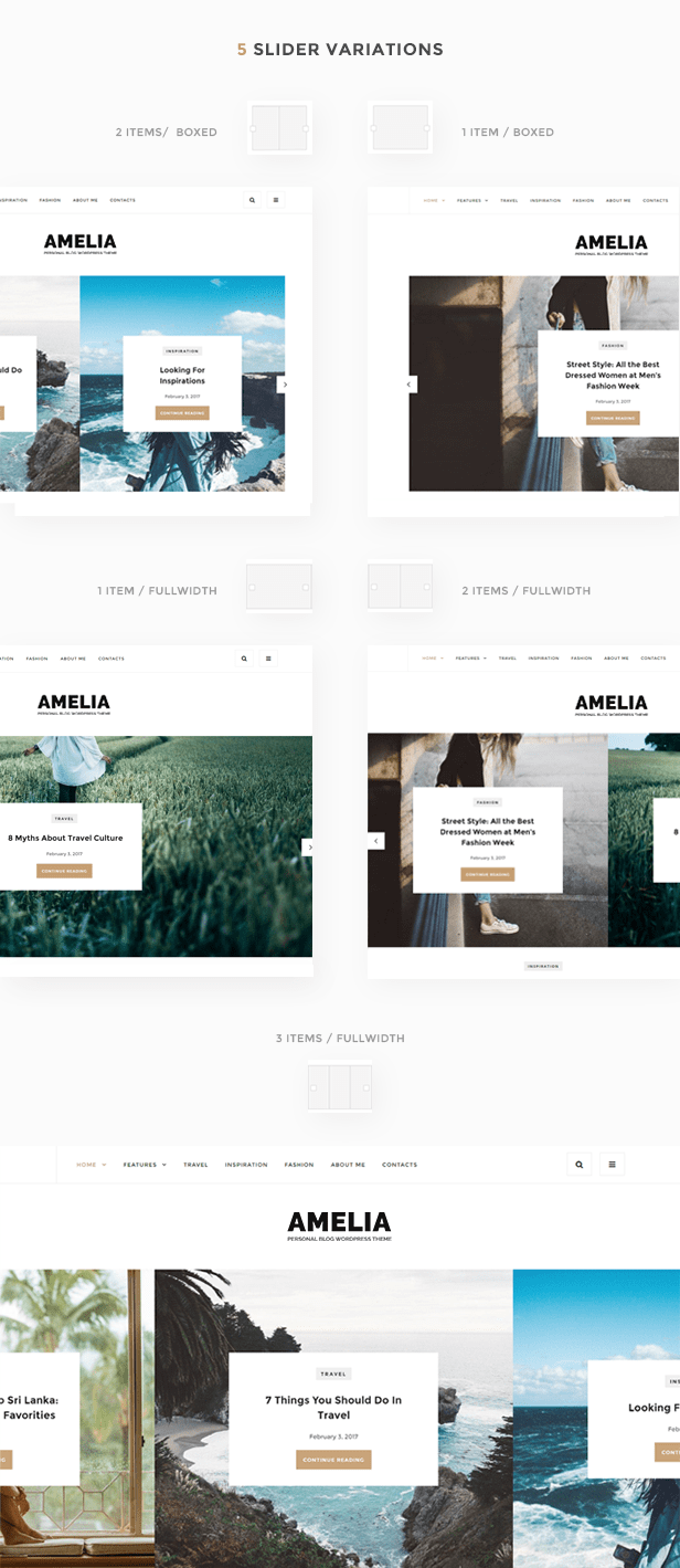 Amelia - Clean Blog & Magazine WordPress Theme + Woocommerce - 4