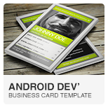 Android Developer Business Card