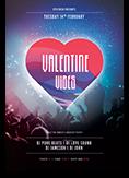 Valentine Vibes Flyer