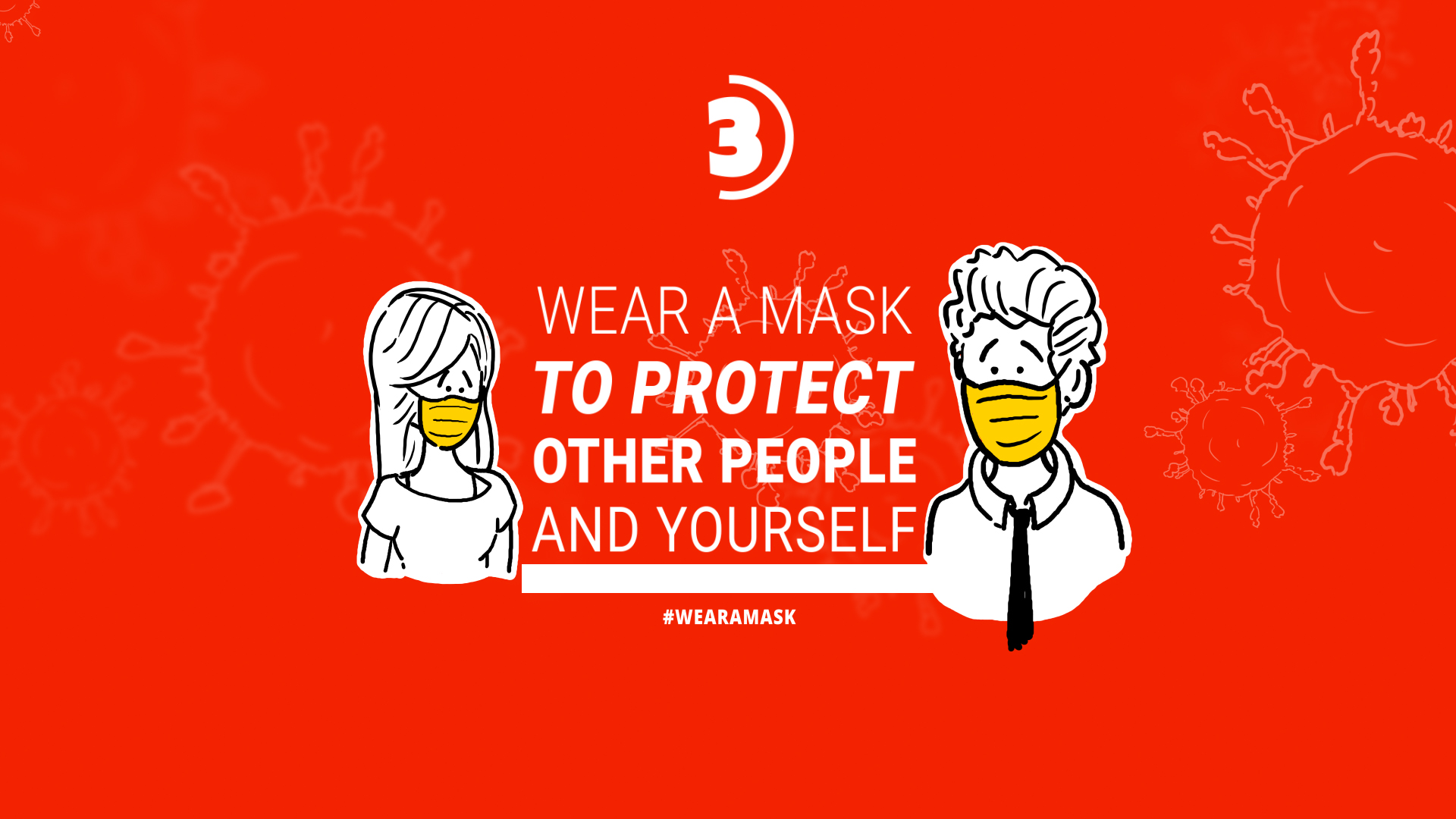 Coronavirus Animation Stay Safe - 2