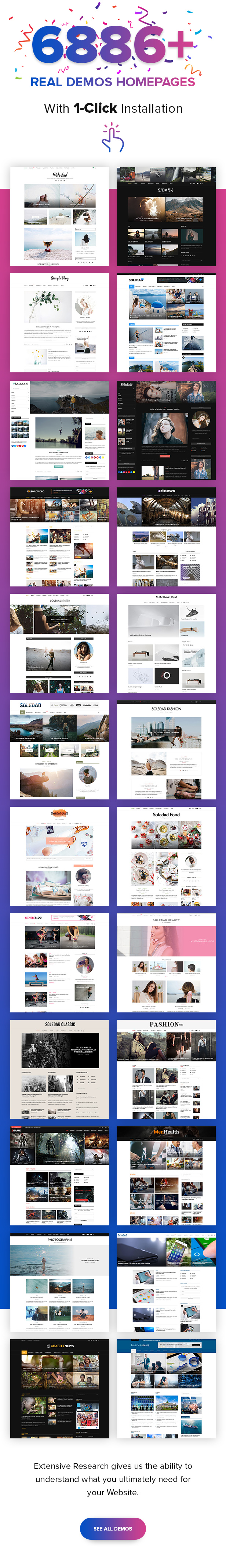 Soledad WordPress Blog Theme