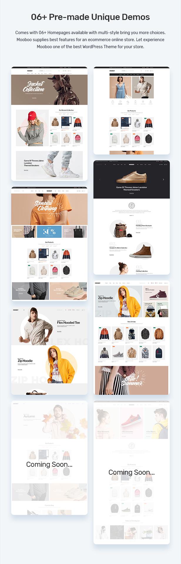 Mooboo v1.0.5-WooCommerce WordPress的时尚主题插图2