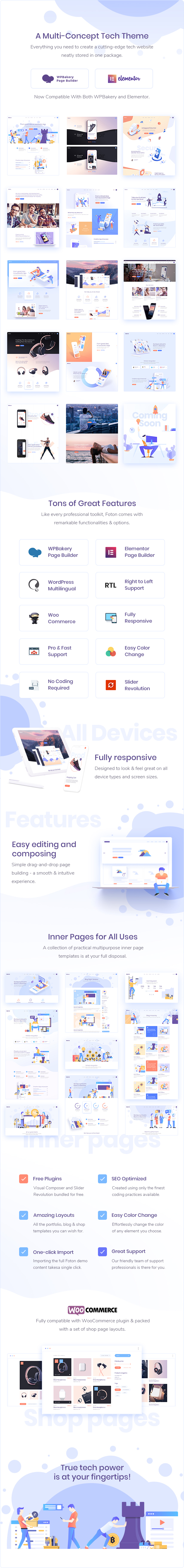 Foton - Software and App Landing Page Theme - 1