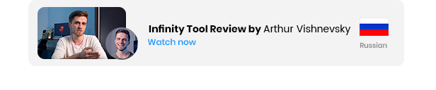 Infinity Tool - The Biggest Pack for Video Creators - 50