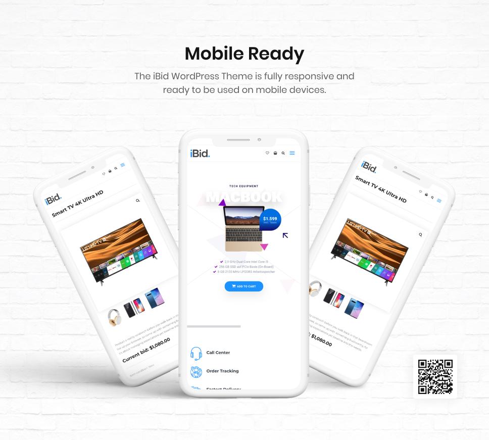 iBid - Multi Vendor Auctions WooCommerce Theme - 22
