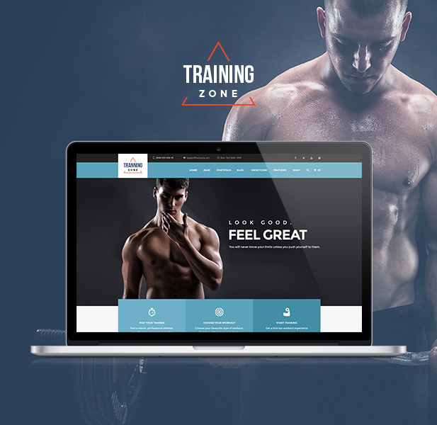 Training Zone - Gym & Fitness WordPress Theme - 6