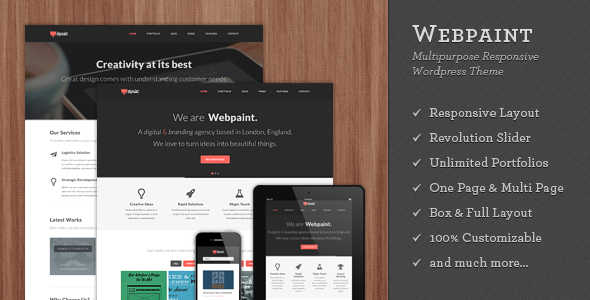 Rufio - 2 in 1 Responsive WordPress Theme - 2