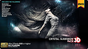 Crystal Slideshow Pack 3D