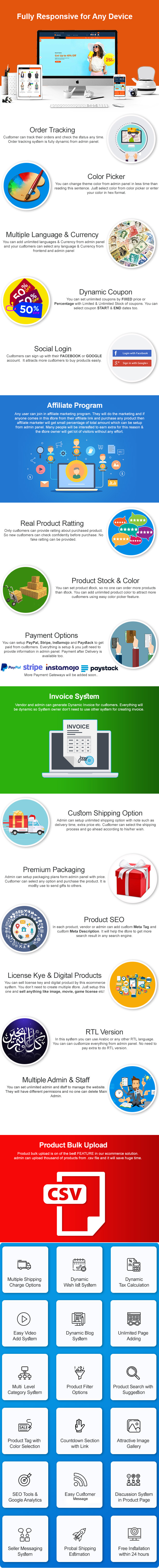 eCommerce - Responsive Ecommerce Business Management System - 3