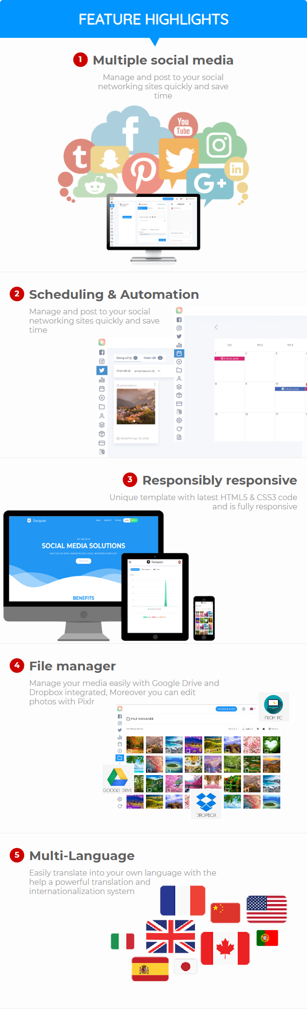 Stackposts - Social Marketing Tool - 6