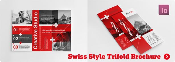 Swiss Style Bifold Brochure - 1