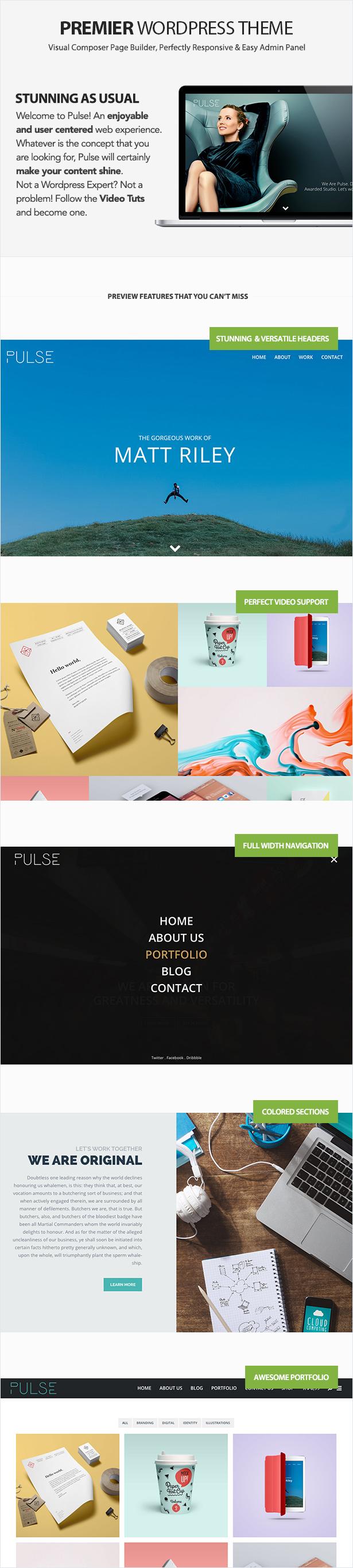 Pulse - Premier WordPress Theme - 2