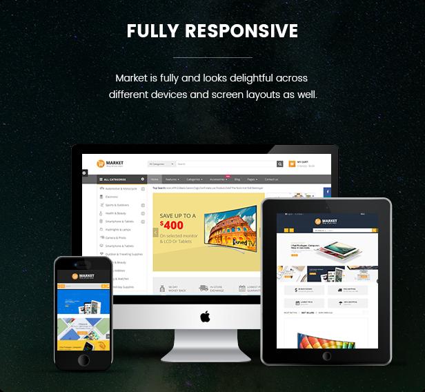 Market - Fully responsive
