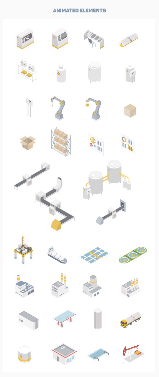 Isometric Industry - 5