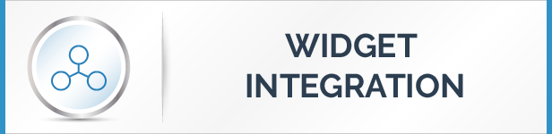 Widget Integration Feature