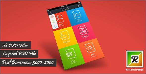 Mobile App Screenshot Mockups - 4