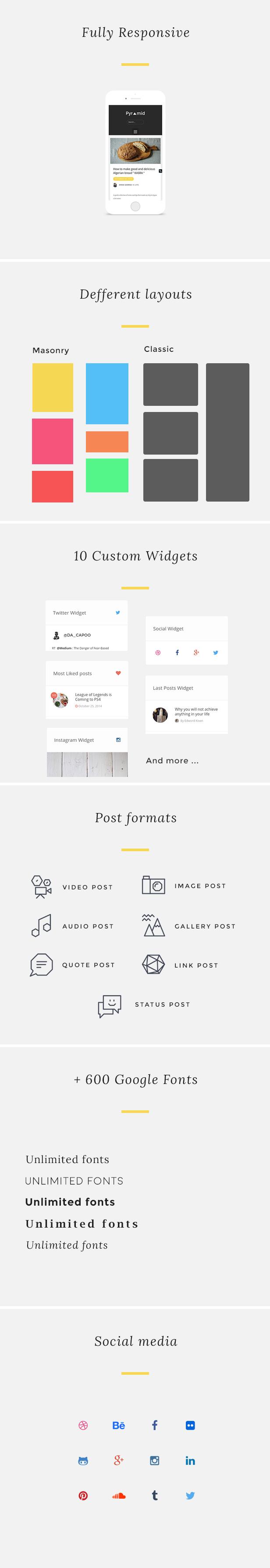 Pyramid - Responsive Blogging WordPress Theme - 2