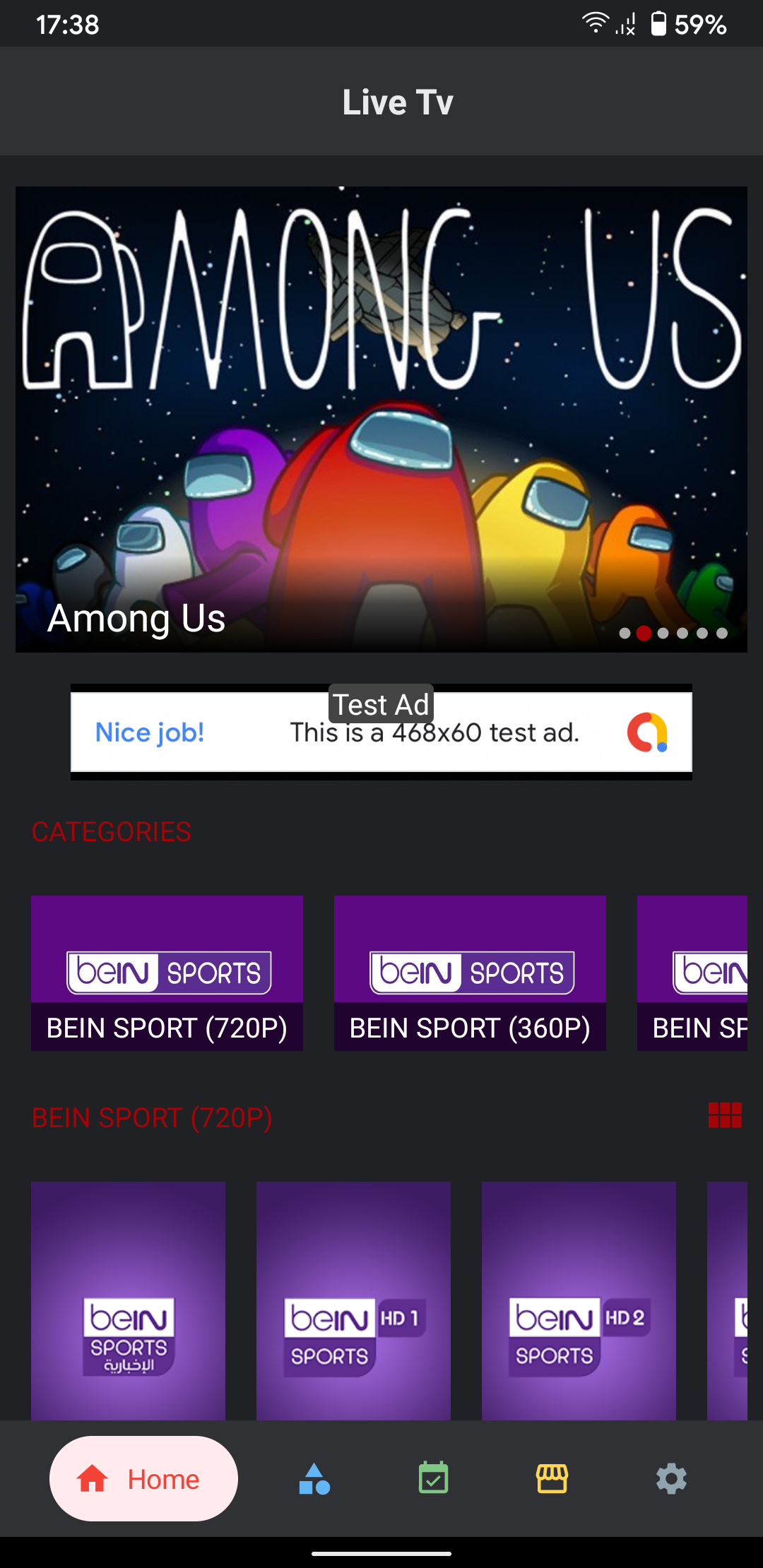 Live Tv Streaming App without Hosting (Admob, Firebase) - 2