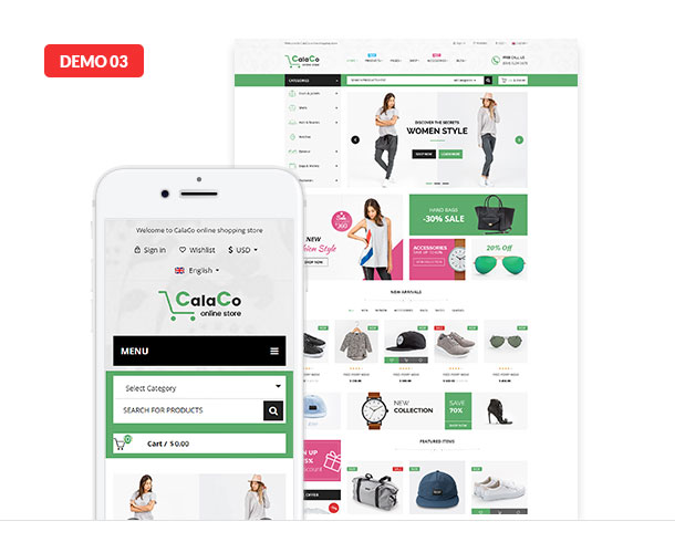 VG Calaco - Clothing and Fashion WordPress Theme - 20