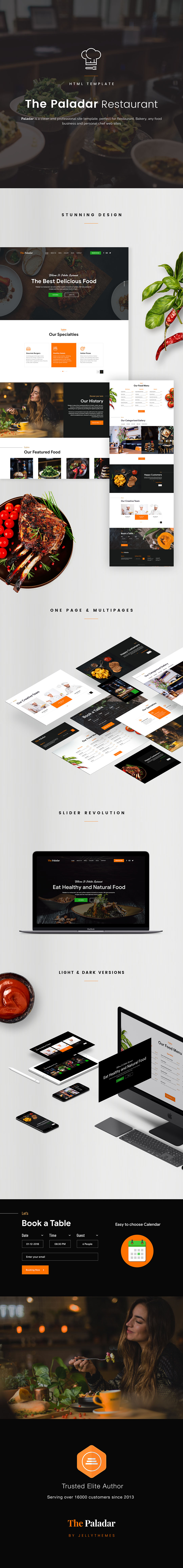 Paladar - HTML Restaurant Template - 1