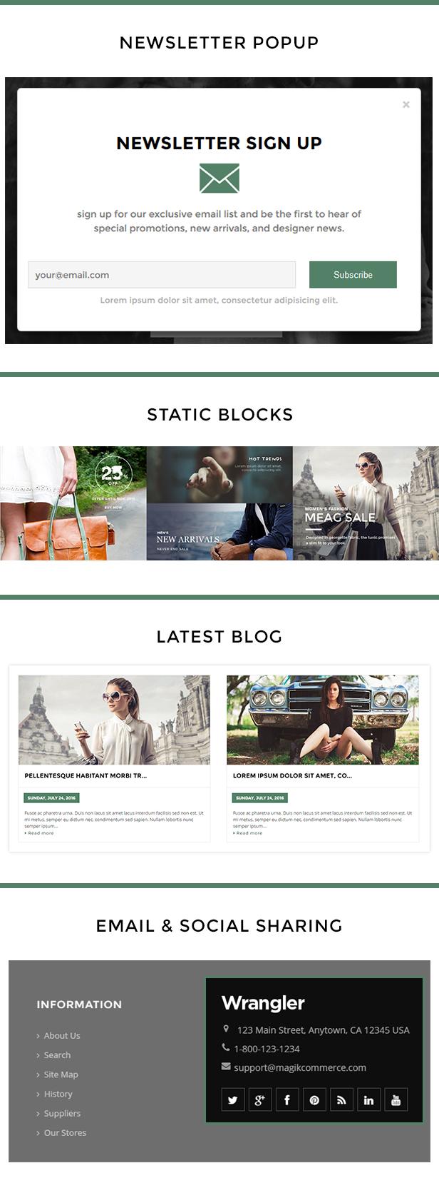Wrangler Fashion Store Shopify Theme & Template