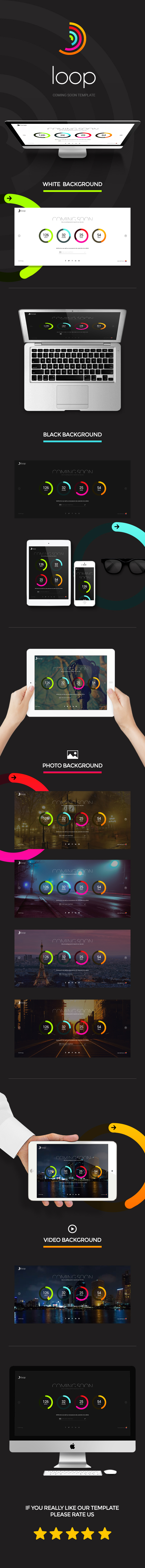 Loop - Animated Coming Soon Countdown Template by creative_era ...