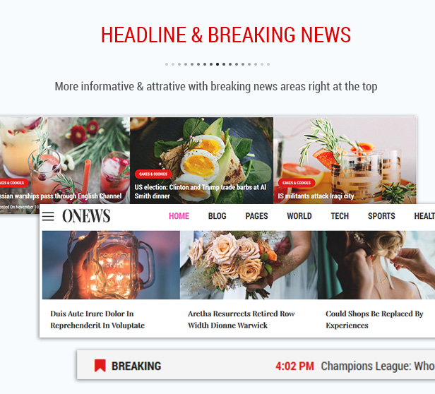 SW ONews - News, Newspaper, Magazine Theme