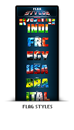 flag of countries photoshop text effect styles