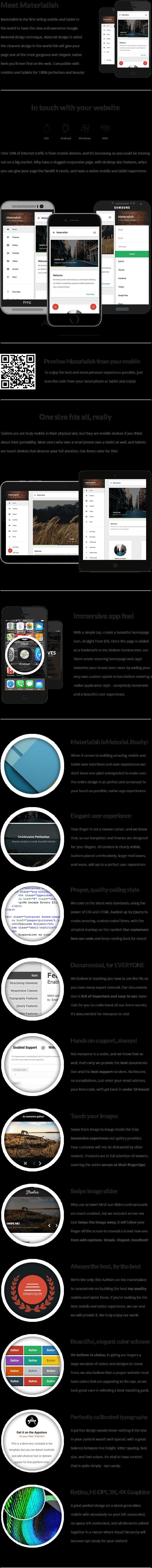 Materialish Mobile | Mobile Template - 9