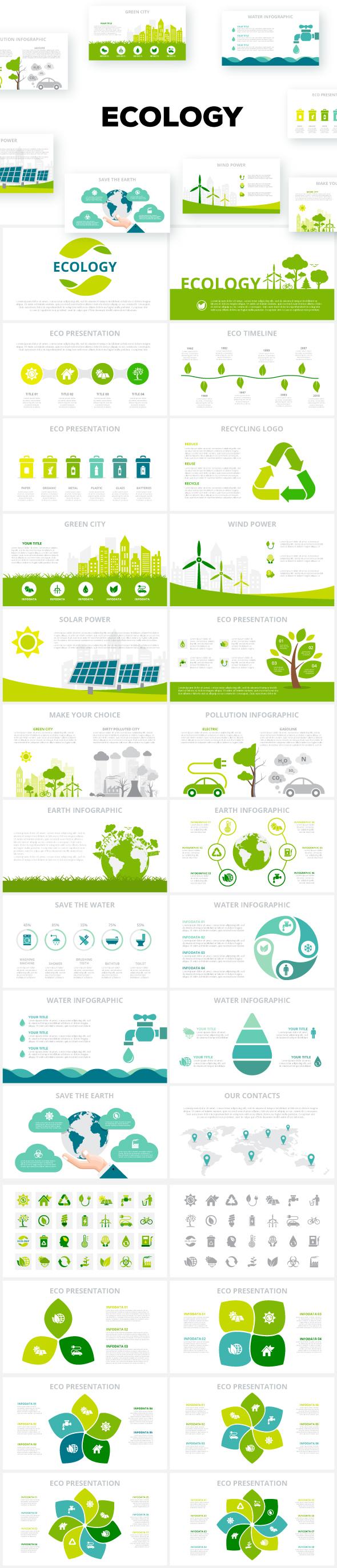 Multipurpose Infographics PowerPoint Templates v.5.0 - 171