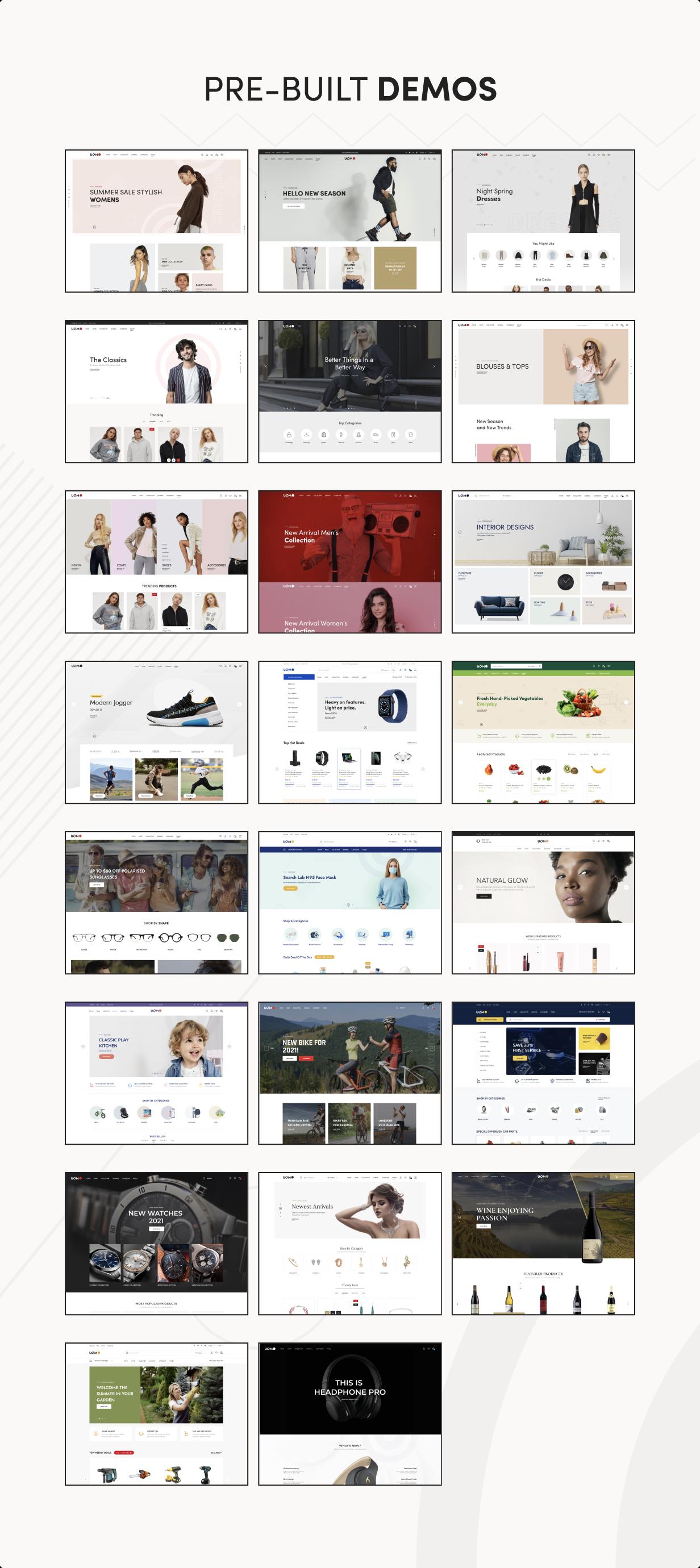 Uomo - Tema WordPress multipropósito para WooCommerce - 5