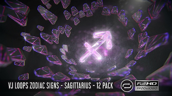 VJ Loops Zodiac Signs - Aries - 12 Pack - 2
