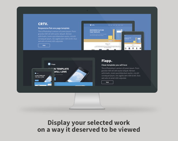 Crtv - Responsive Flat One Page Template - 3