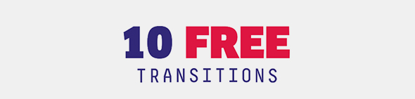 10 Free Transitions