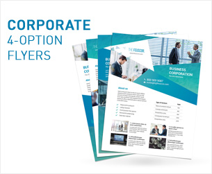 Business Consulting Services Flyers – 4 Options - 3
