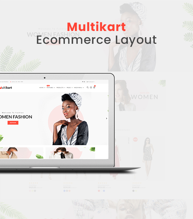 Multikart Multipurpose Ecommerce Angular Template