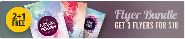 Geometric Flyer Bundle Vol.08