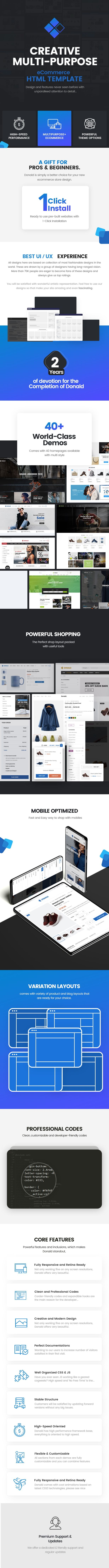 Donald - eCommerce HTML Template - 1
