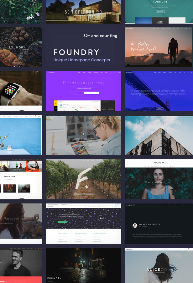 foundry multipurpose multi concept wp theme by tommusrhodus
