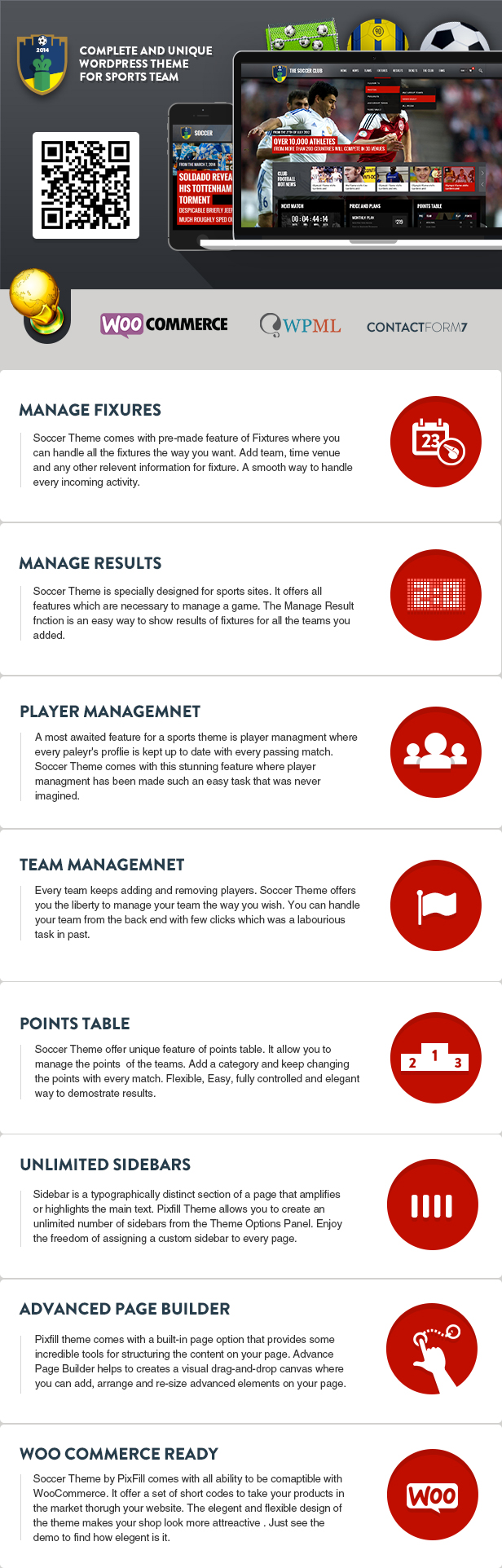 Soccer Club - Sports and Events News theme - 1
