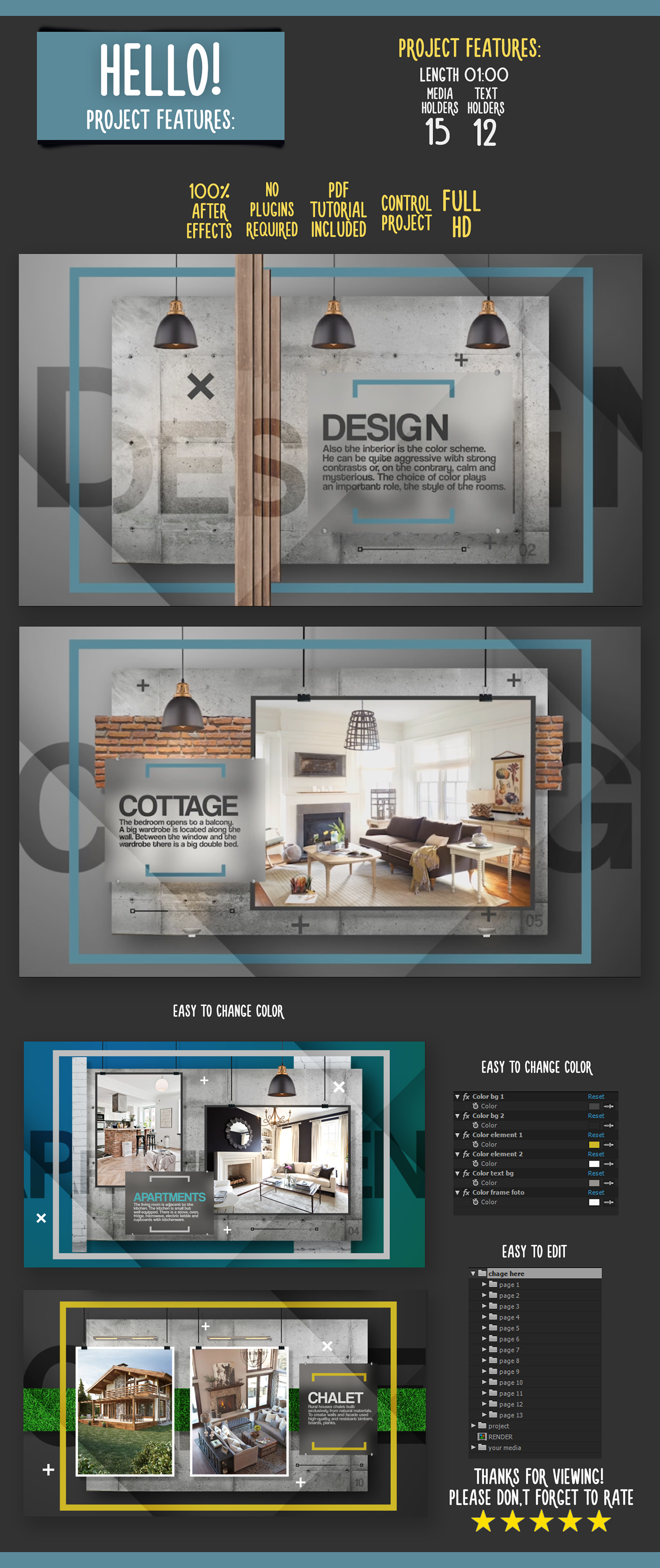 interior design project presentation pdf presentation